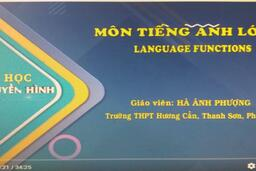 MÔN TIẾNG ANH LỚP 12 | LANGUAGE FUNCTIONS